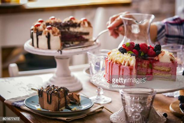 Variation of Berry Layer Cake, Chocolate Cake and Black Forest Cake