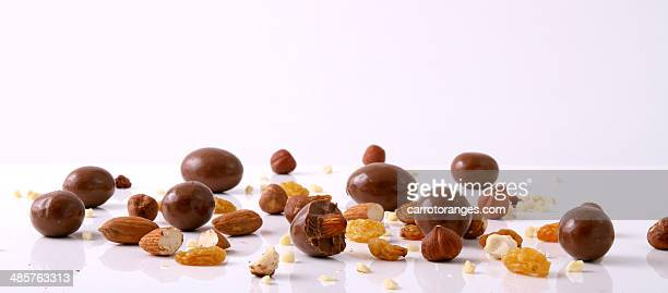 Variation of Chocolate & Nuts
