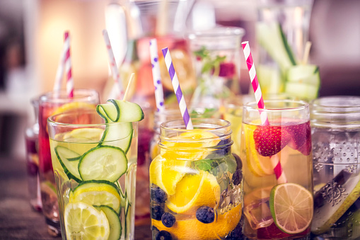 Variation of Infused Water with Fresh Fruits 525338134
