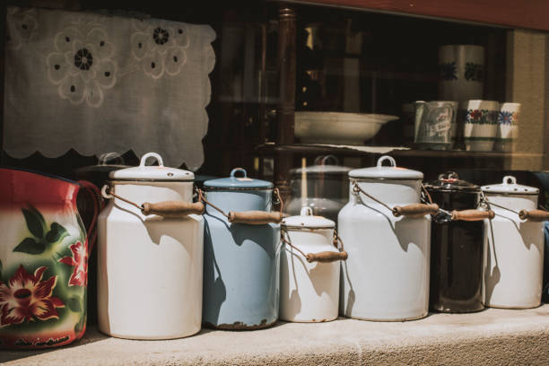 Variation of Milk Canisters