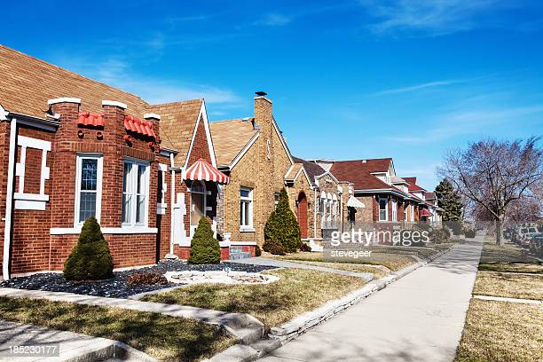 Varied Bungalows in West Lawn, Chicago
