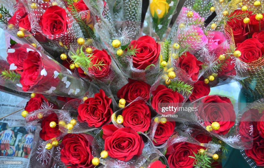 Valentines Day Eve In Dimapur : News Photo