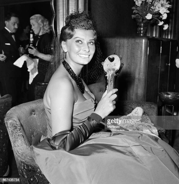 Variety Club charity premier of 'The Key' Odeon Leicester Square London The Key is a 1958 British war film set in 1941 during the Battle of the...