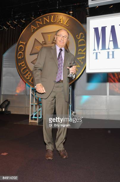 Variety Editor Peter Bart receives the Lifetime Achievement Award at the 46th Annual ICG Publicists Awards at the International Ballroom at the...