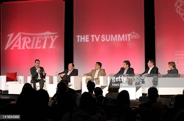 Variety Features associate editor Jon Weisman Civolution CCO Andy Nobbs Milyoni CEO John Corpus Watchwith CEO Zane Vella USA Netword SVP for digital...