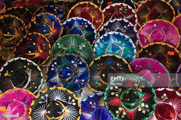 Variety of Mexican Charro Hat
