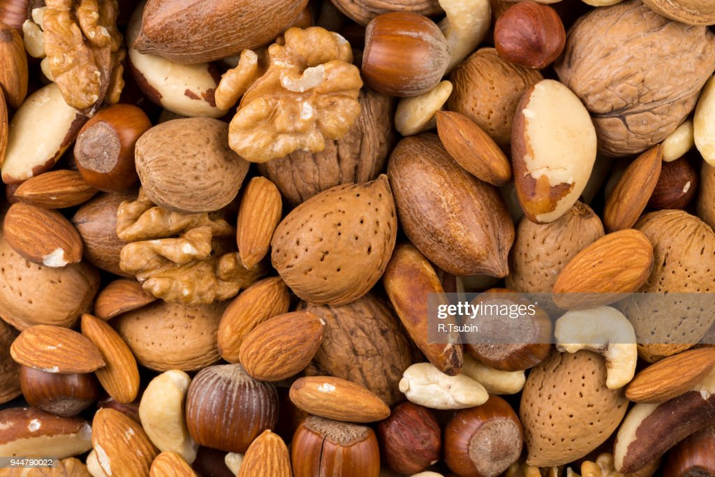 Variety of Mixed Nuts : Stock Photo