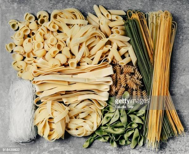 Variety of pasta