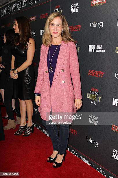 Variety Publisher Michelle SobrinoStearns arrives at Variety's 3rd annual Power of Comedy event presented by Bing benefiting the Noreen Fraser...