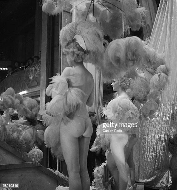 Variety show of the FoliesBergere Paris about 19371939