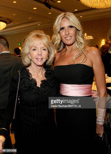 Variety Vice President Film Talent Dawn Allen and actress Tiziana Rocca attend the BAFTA Los Angeles Tea Party at The Four Seasons Hotel Los Angeles...