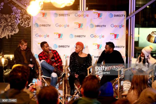 Variety/Page Six TV/ moderator Elizabeth Wagmeister Jay Ellis of A Boy A Girl A Dream Anika Noni Rose of Assassination Nation Colman Domingo of...