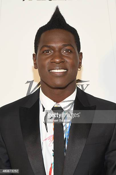 Variety's Male Sports Personality of the Year Antonio Brown attends Variety's Sports Entertainment Breakfast presented by MercedesBenz at Vibiana on...