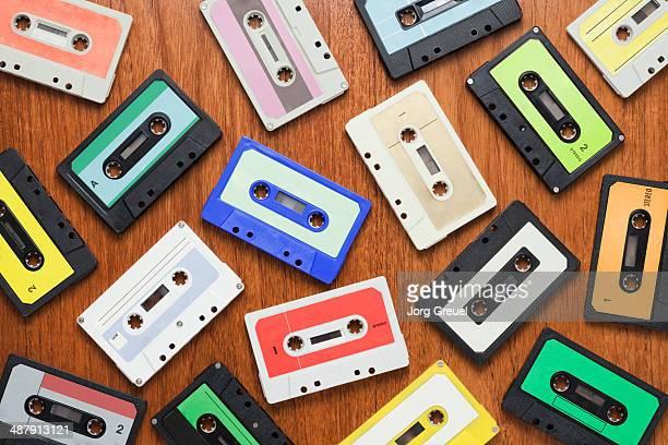 Various audio cassettes