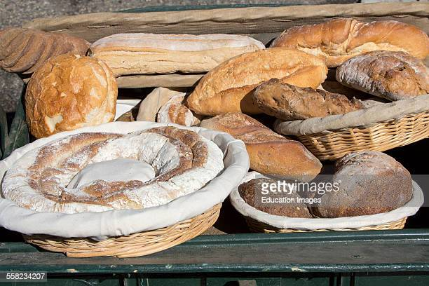 Various Breads Mouries France
