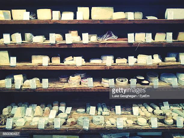 Various Cheese For Sale In Store