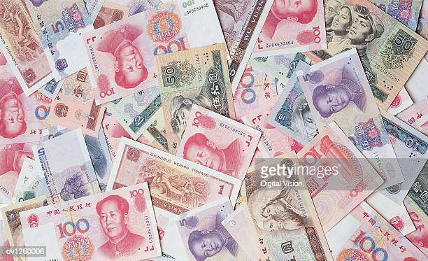 Various Chinese Banknotes