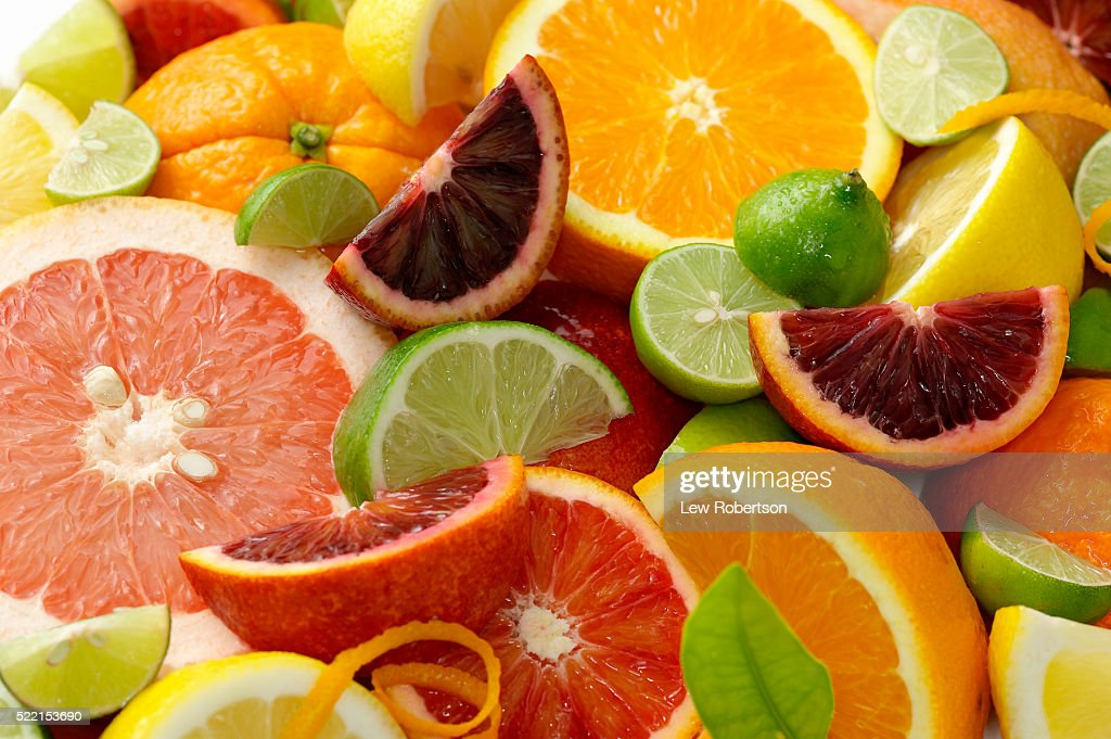 Various Citrus Fruits : ストックフォト