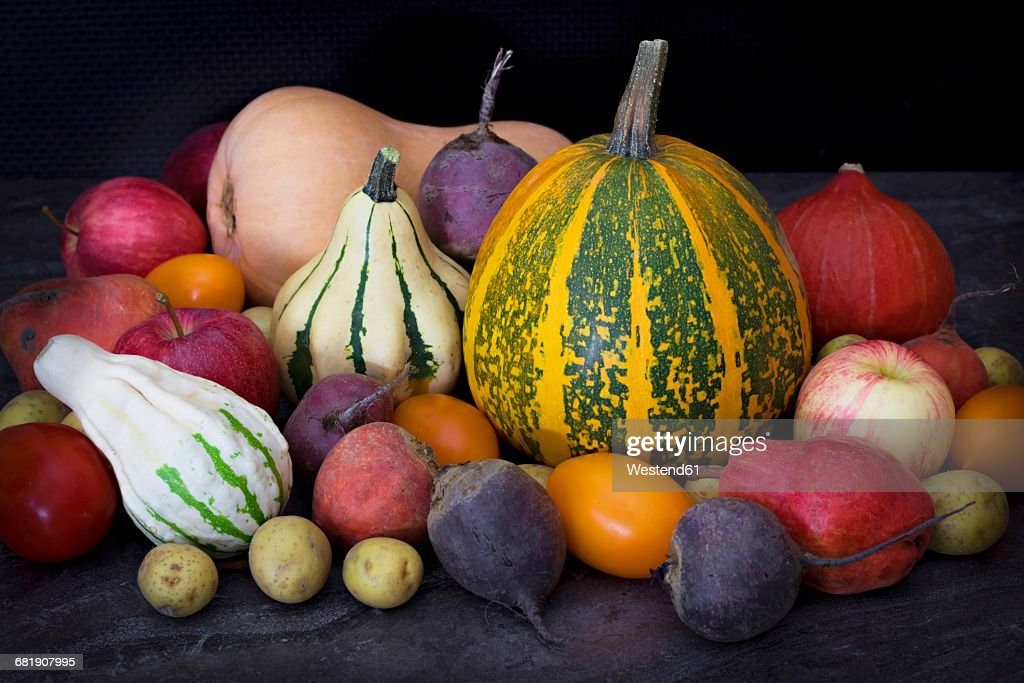 Various colorful vegetables : Stock Photo