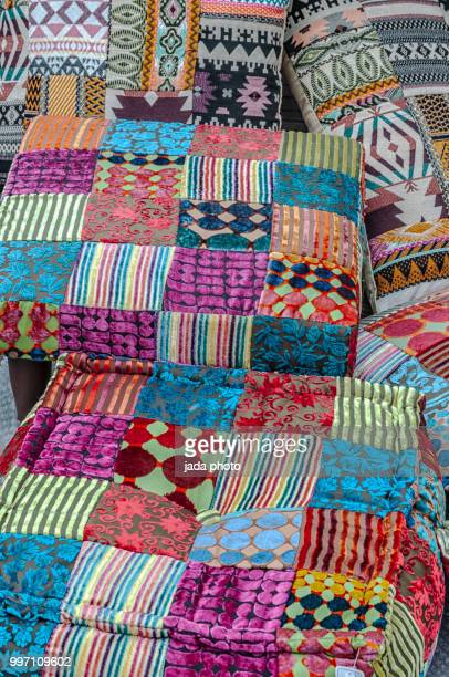 various coloured pillows on the market