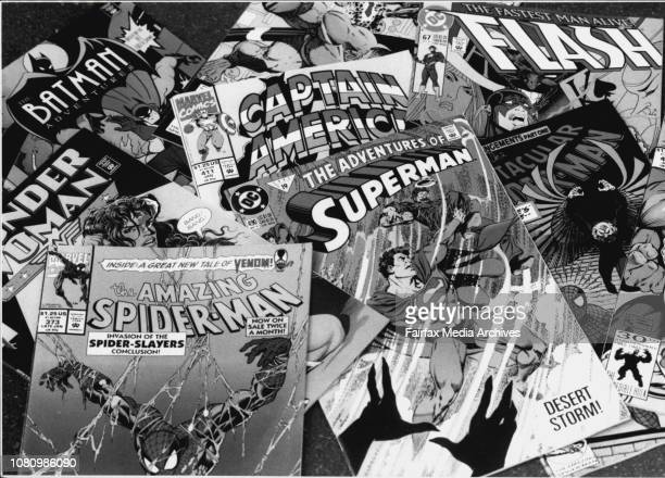 Various comics from comic store the comic kingdom CityNames such as The Flintstones wonder woman superman etcComic selectionmore than a laughing...
