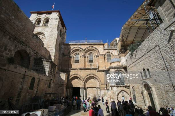 Various daily life and landscape images of the old city of Jerusalem The old city is divided in the following quarters Muslim quarter christian...