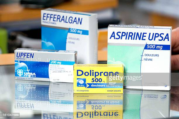Various Drugs To Treat Fever And Pain Efferalgan Active Substance Paracetamol Therapeutical Class Analgesic And Antipyretic Aspirin Active Substance...