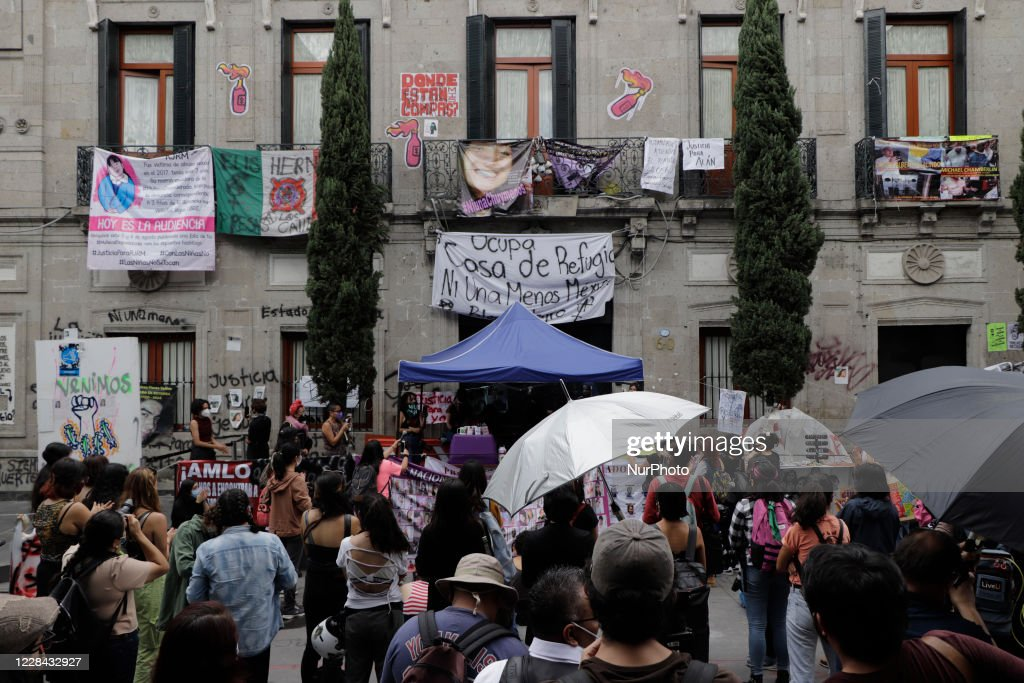 Protest Against Gender Violence In Mexico : News Photo