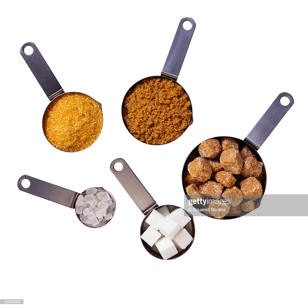 Various Forms of Sugar : Stock Photo