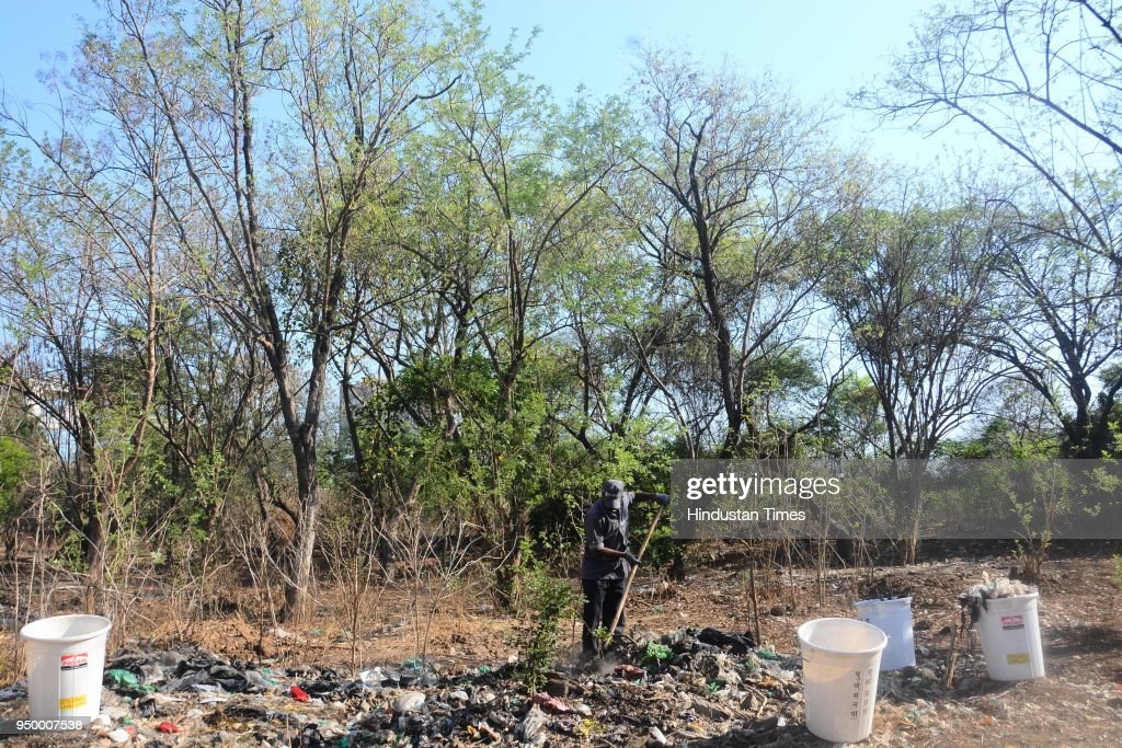 Environment Enthusiast Took Part To Clean Up Dr Salim Ali Bio Diversity Park