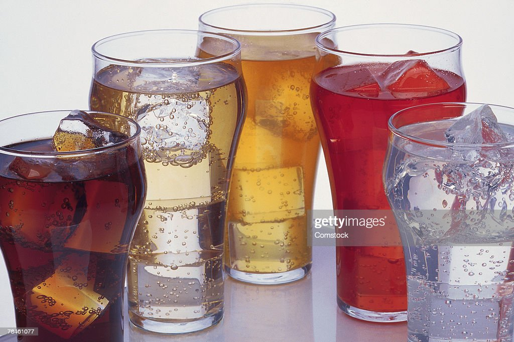 Various iced beverages : Stock Photo