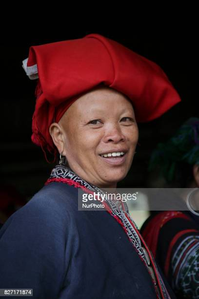 Various images of the ethnic group Hmong living in northern Vietnam They are a rural tribe living around the area of Sapa town Their income is mostly...