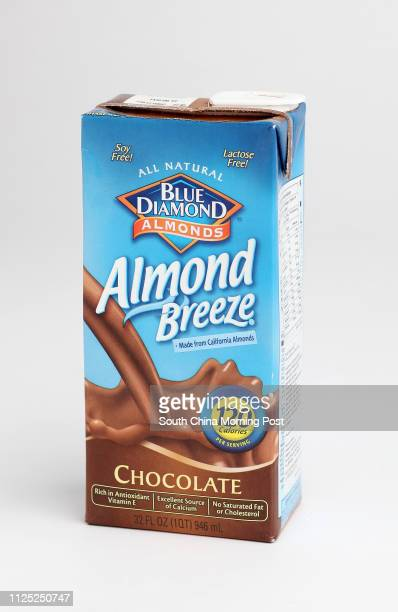 Various Milk Alternatives/ Nondiary Beverages products for Features Health Post The Taste Test Column Blue Diamond Almond Breeze Chocolate SCMP...