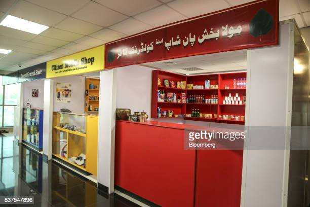 Various mockups of stores are seen in the Crime Scene and Death Scene Investigations department at the Punjab Forensic Science Agency in Lahore...