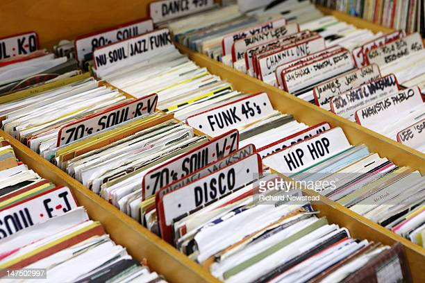 various of records - soul music stock pictures, royalty-free photos & images