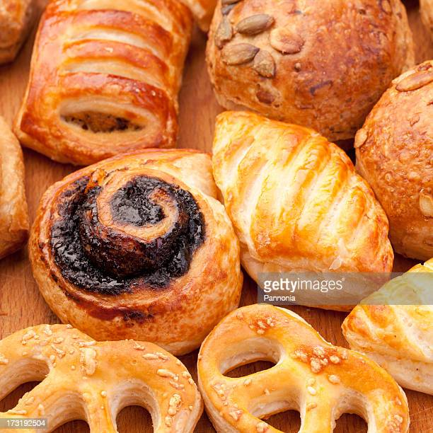 Various Pastry Products