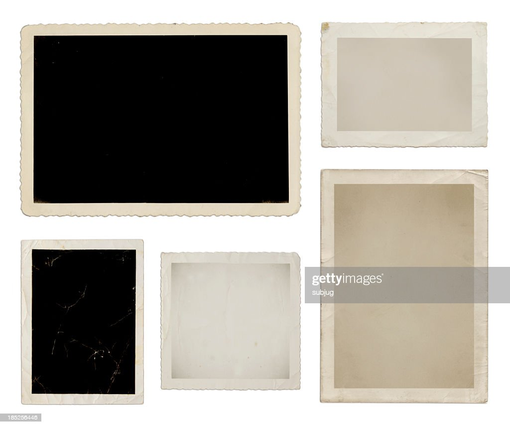 Various photo collection in black, tan, and white : Stock Photo