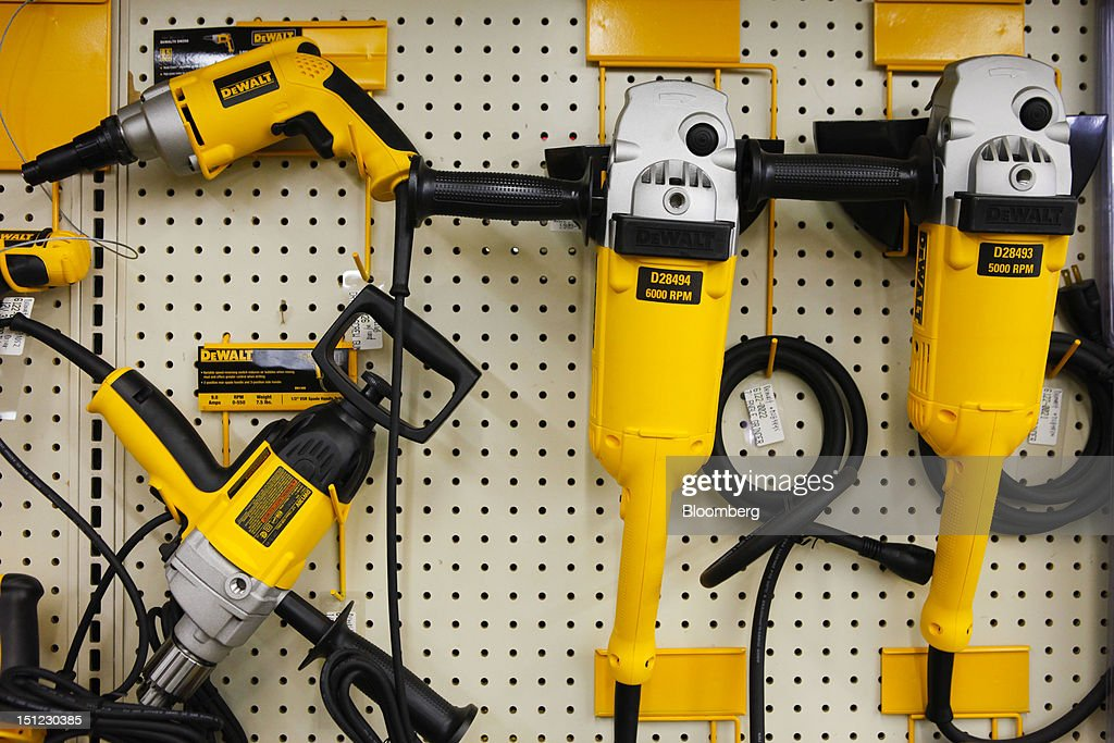 Various power tools from DeWALT Industrial Tool Co , a