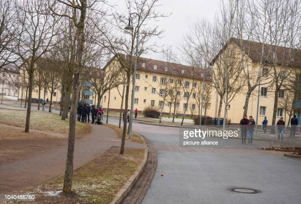 Various residential building blocks of the Upper Franconian processing facility in Bamberg Germany 07 December 2016 Photo Nicolas Armer/dpa | usage...