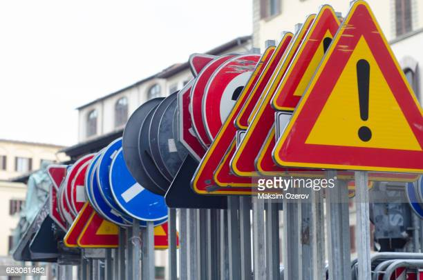 various road signs - rules stock pictures, royalty-free photos & images