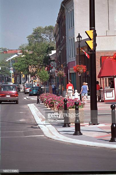 Various shots of Cobourg Ontario and housing develoipments there for New in Homes spread on Cobourg Shots include photo of Al LeBlanc with glasses...