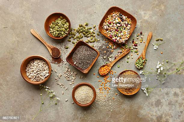 Various super food grains