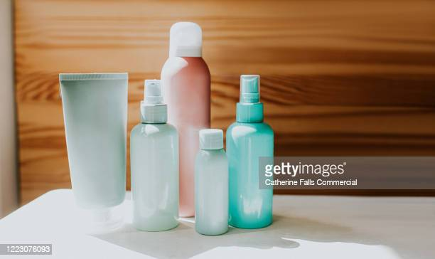 various toiletries - medicine cabinet stock pictures, royalty-free photos & images