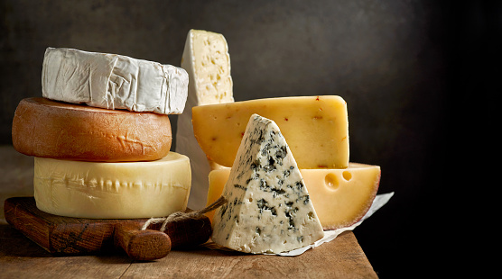 various types of cheese 629210154