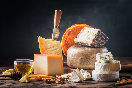 various types of cheese 887441826