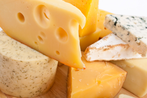 Various types of cheese 95825794