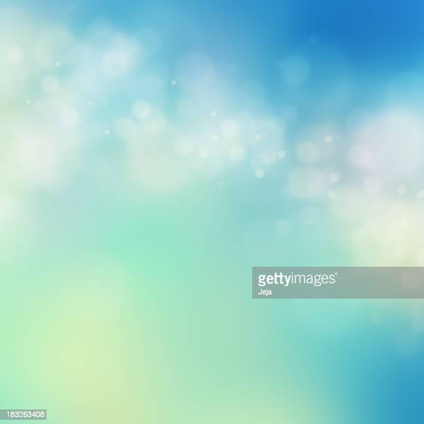 Various types of colors in abstract glowing background