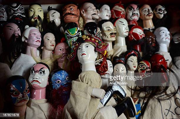 Potehi Chinese Puppet Show In Indonesia Pictures and Photos