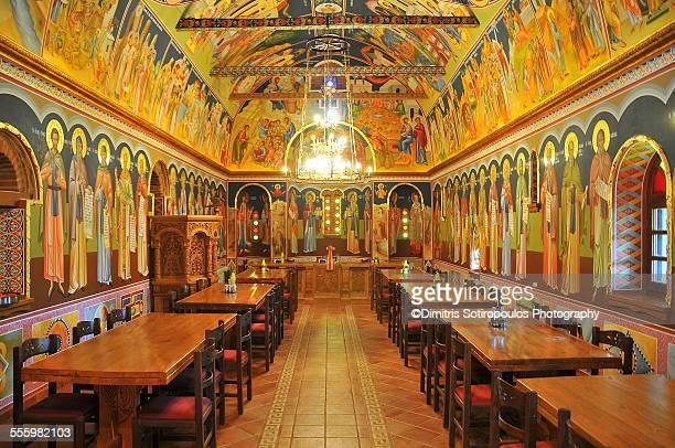 varlaam monastery, meteora - meteora stock pictures, royalty-free photos & images