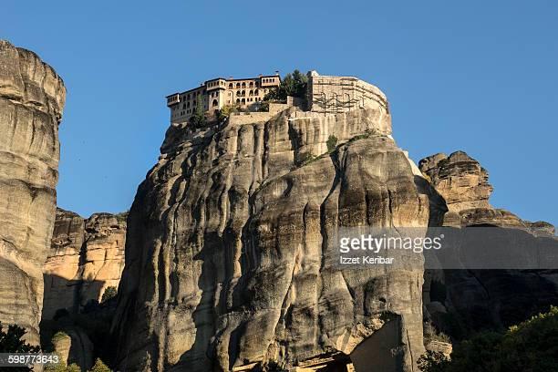 Varlaam Monastery seen from below,Meteora, Greece